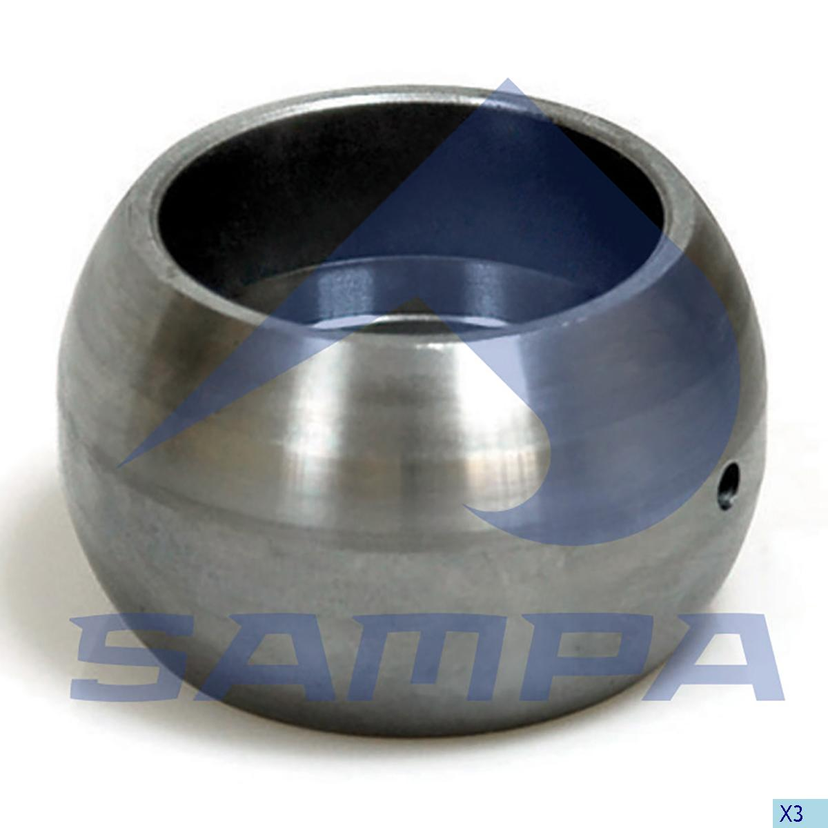 Spherical Bearing, Brake Cam Shaft, Bergische, Brake