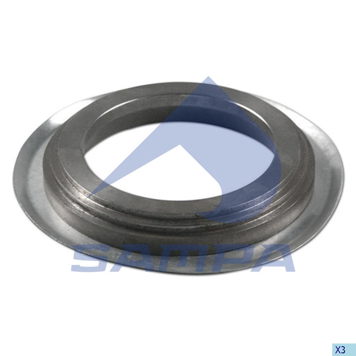 Thrust Ring, Wheel Hub, Bergische Achsen, Power Unit