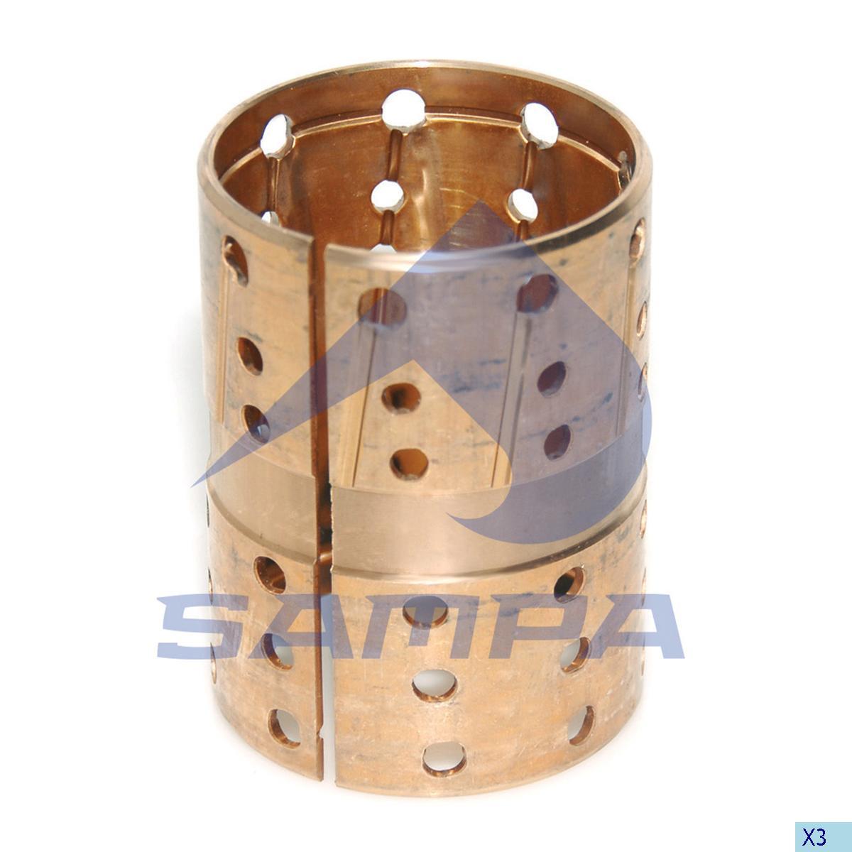 Bushing, Axle Steering Knuckle, Bergische, Power Unit