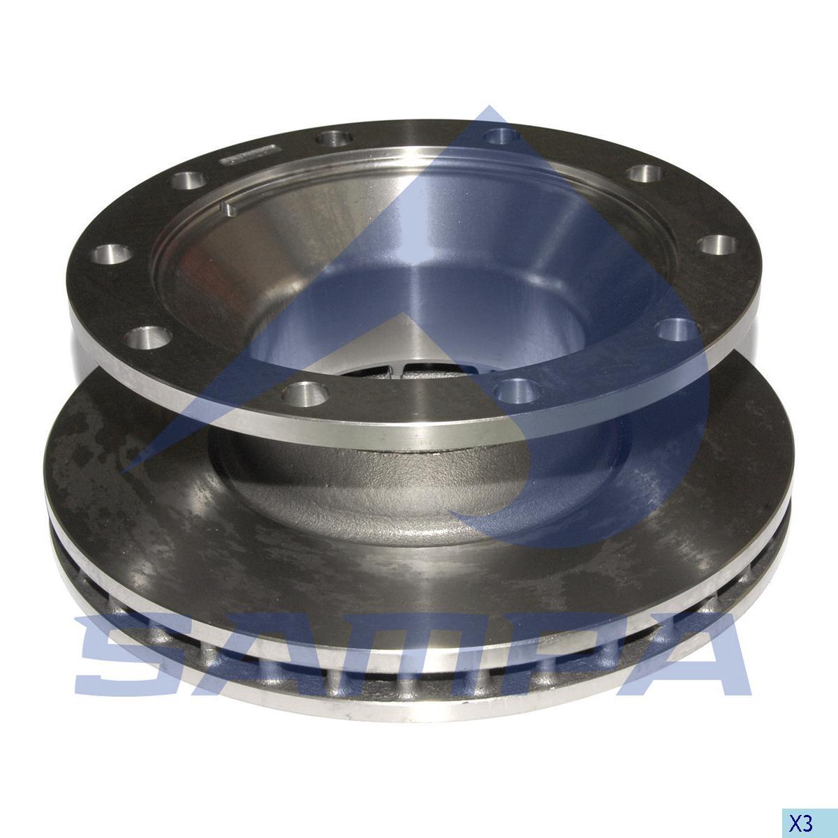 Brake Disc, Bergische Achsen, Brake