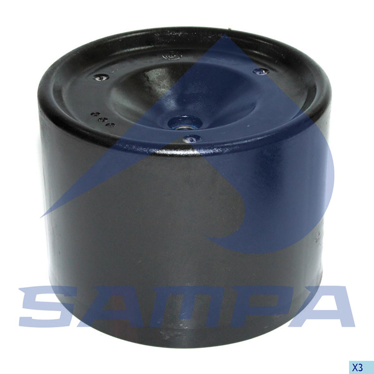 Piston, Air Spring, Bergische Achsen, Suspension
