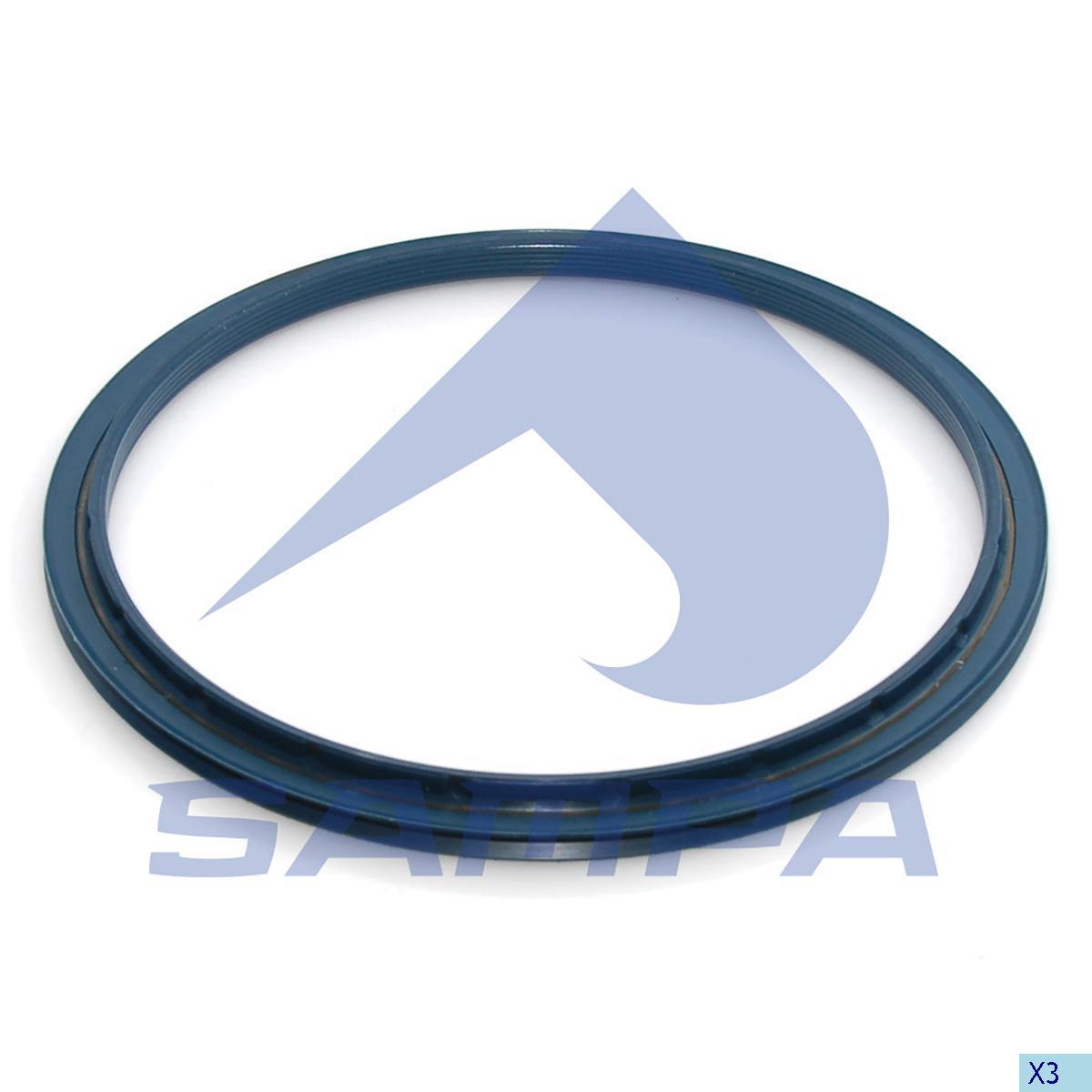 Seal Ring, Wheel Hub, Bergische Achsen, Power Unit