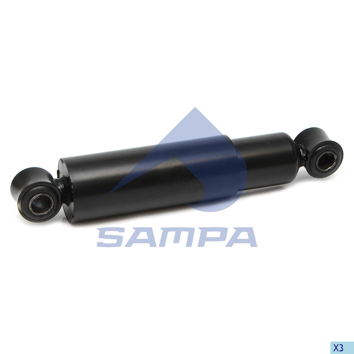 Shock Absorber, Bergische Achsen, Suspension