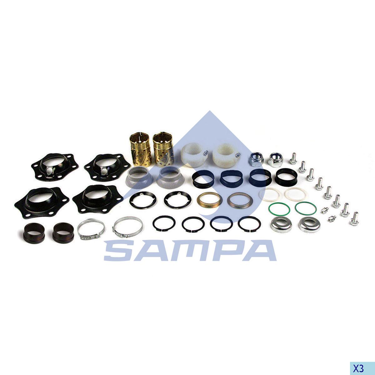 Repair Kit, Brake Cam Shaft, Bergische, Brake