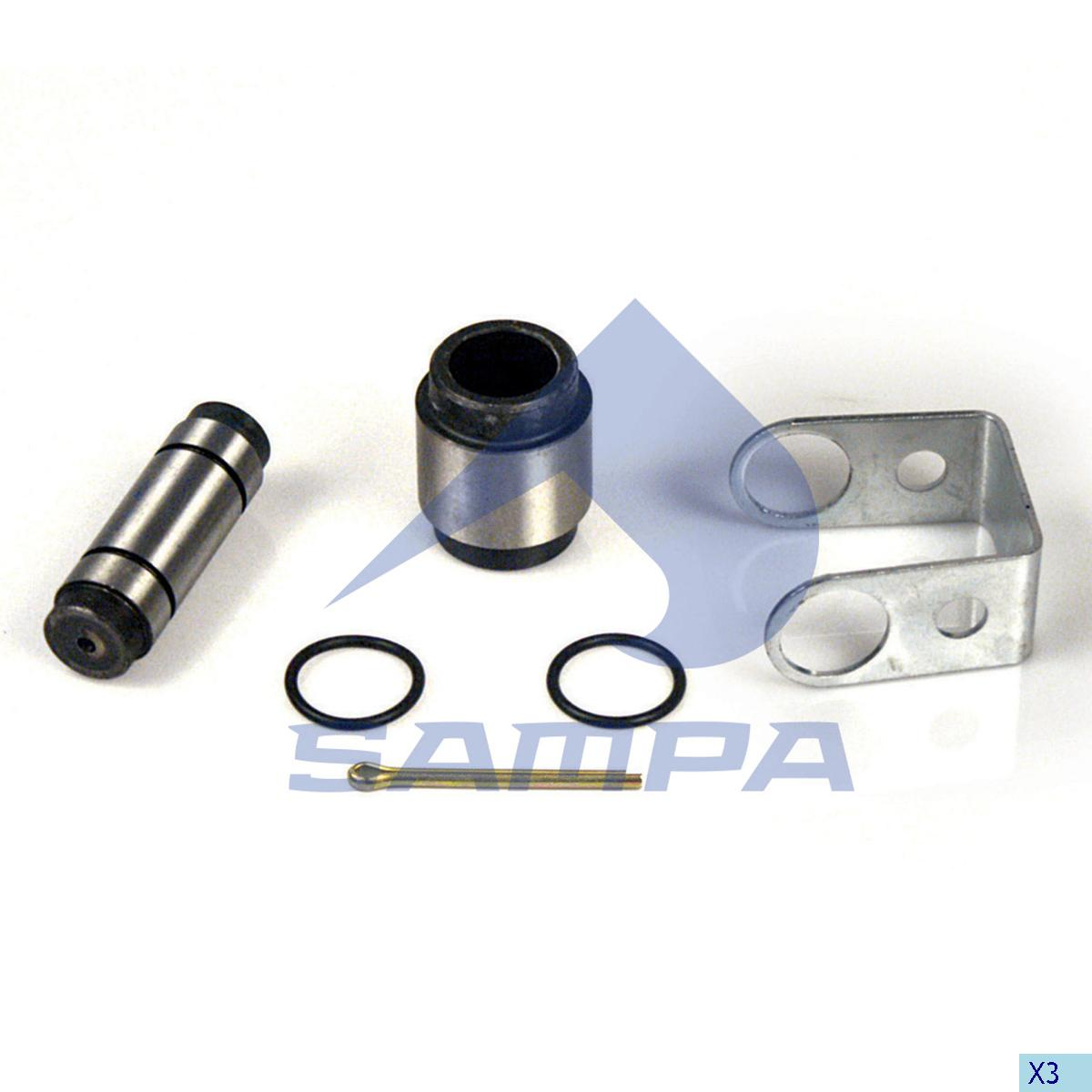 Repair Kit, Brake Shoe, Bergische Achsen, Brake