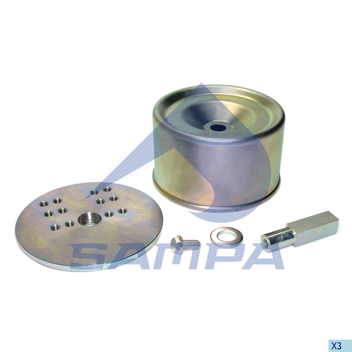 Repair Kit, Air Spring, Bergische, Suspension