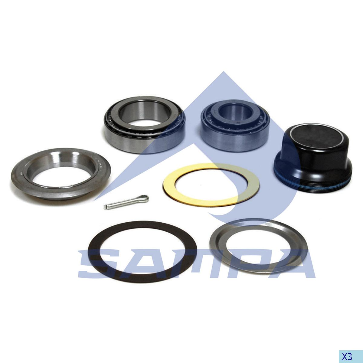 Repair Kit, Wheel Hub, Bergische Achsen, Power Unit