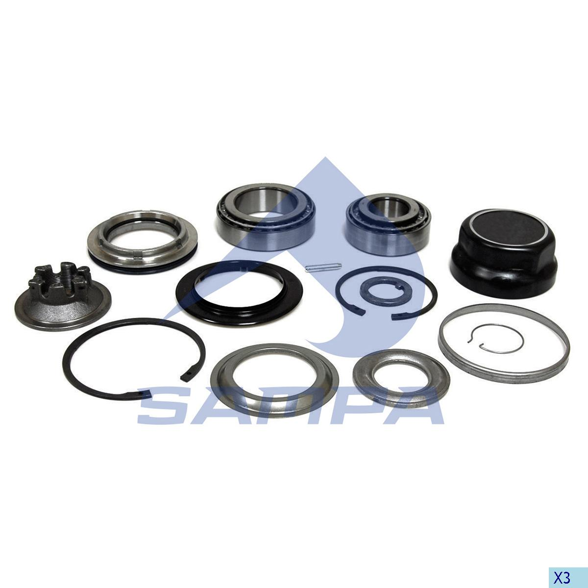 Repair Kit, Wheel Hub, Bergische, Power Unit