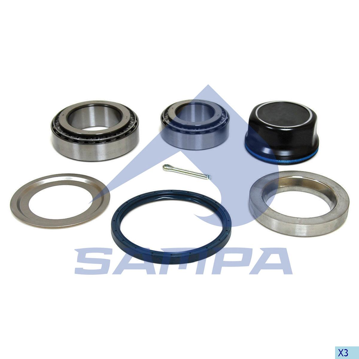 Repair Kit, Wheel Hub, Bergische, Power Unit