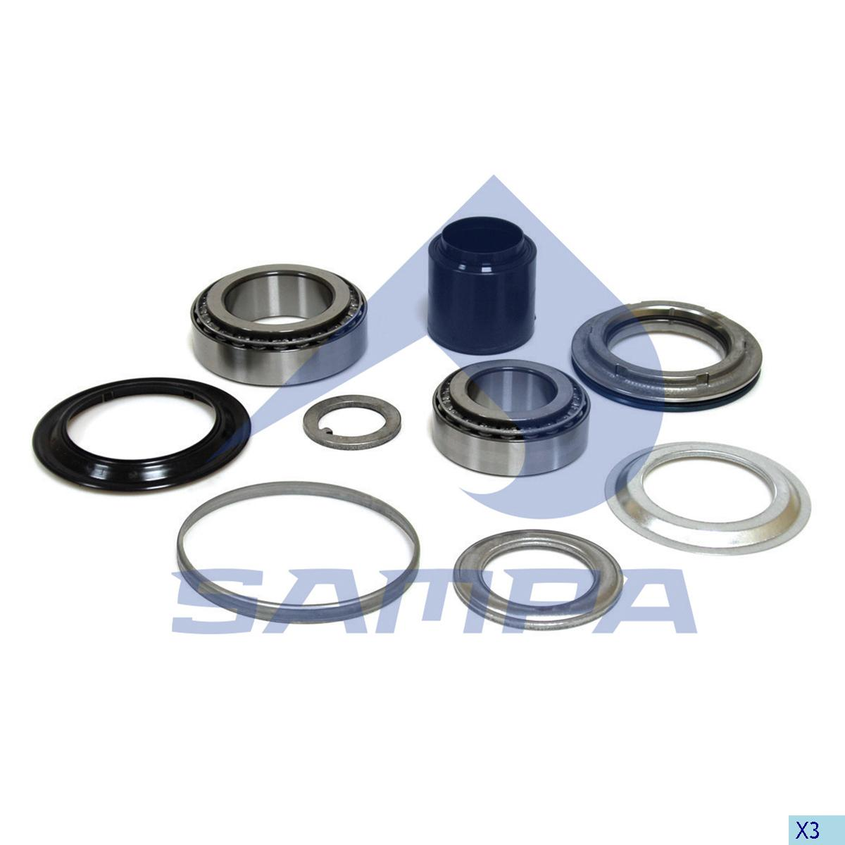 Repair Kit, Wheel Hub, Bergische Achsen, Power Unit
