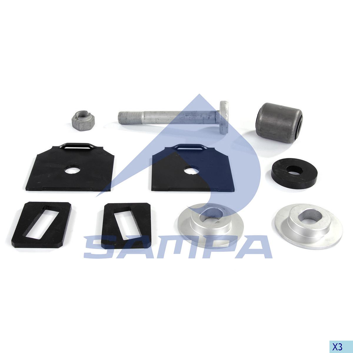 Repair Kit, Spring, Bergische Achsen, Suspension