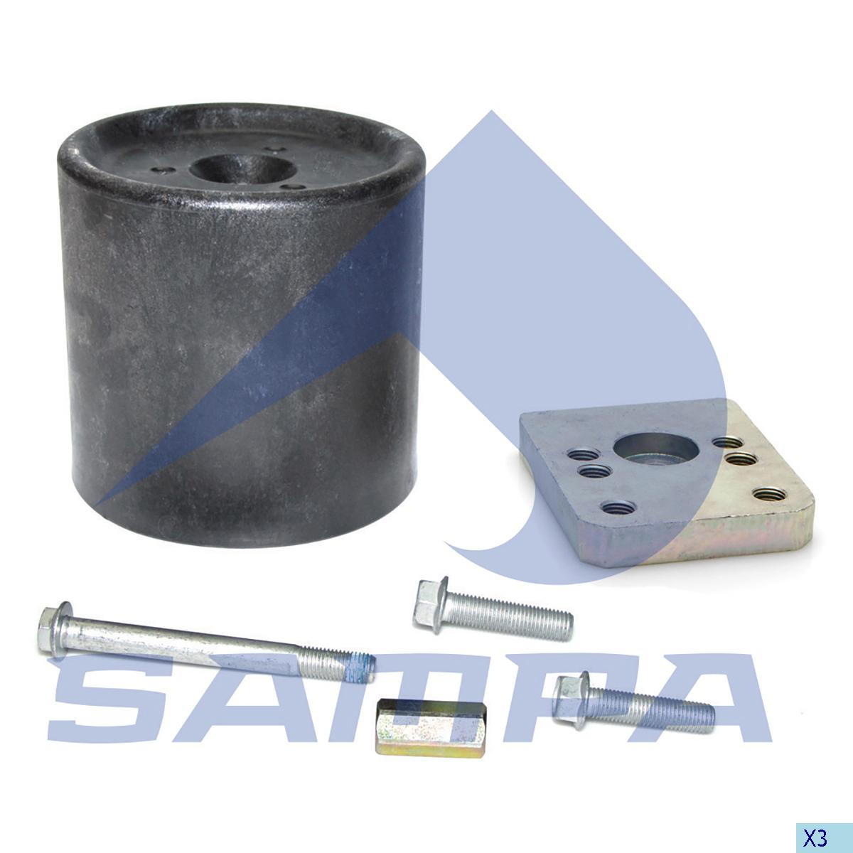 Repair Kit, Air Spring, Bergische Achsen, Suspension