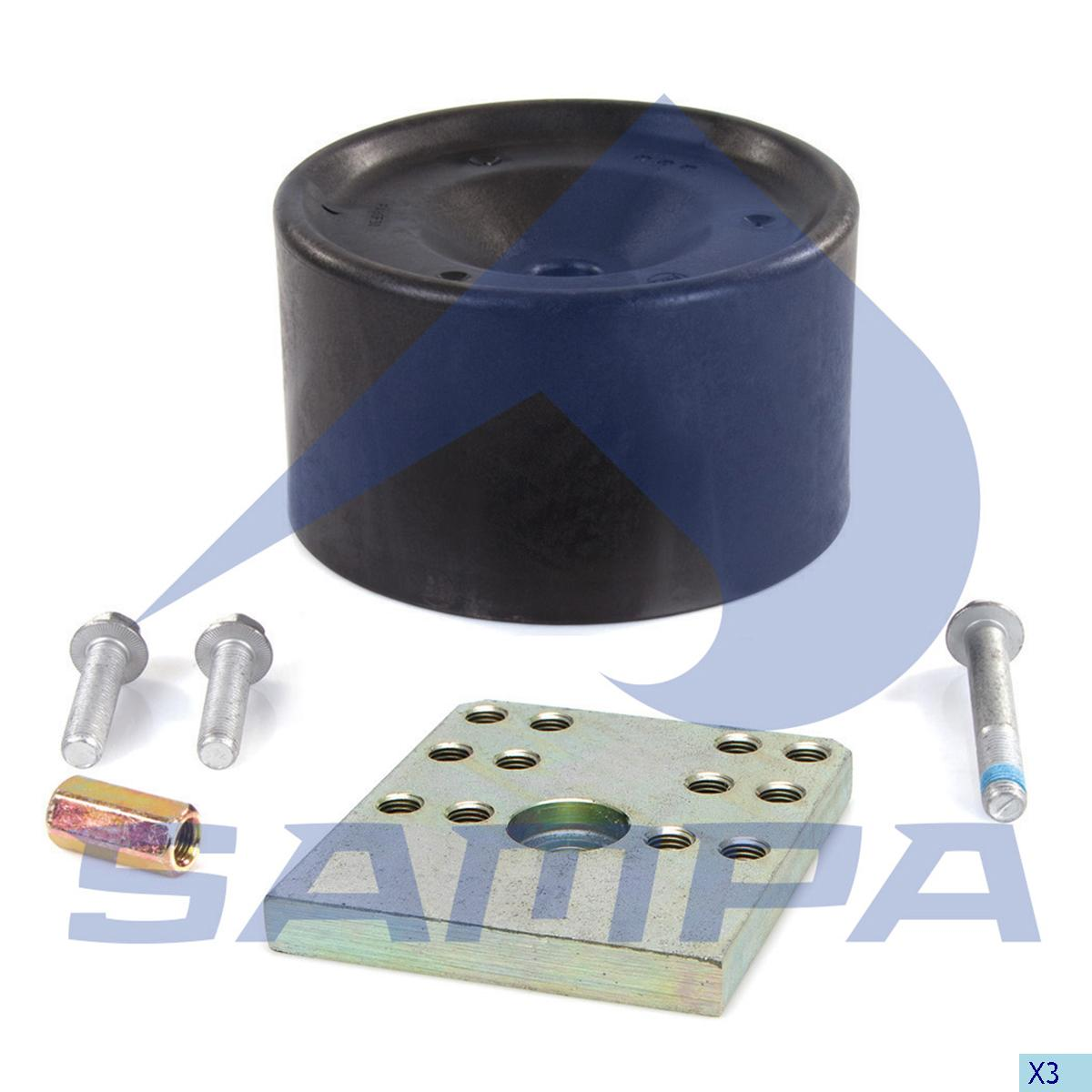 Repair Kit, Air Spring, Bergische Achsen, Suspension
