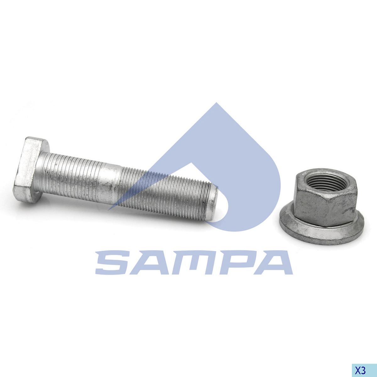 Repair Kit, Stud, Bergische Achsen, Power Unit