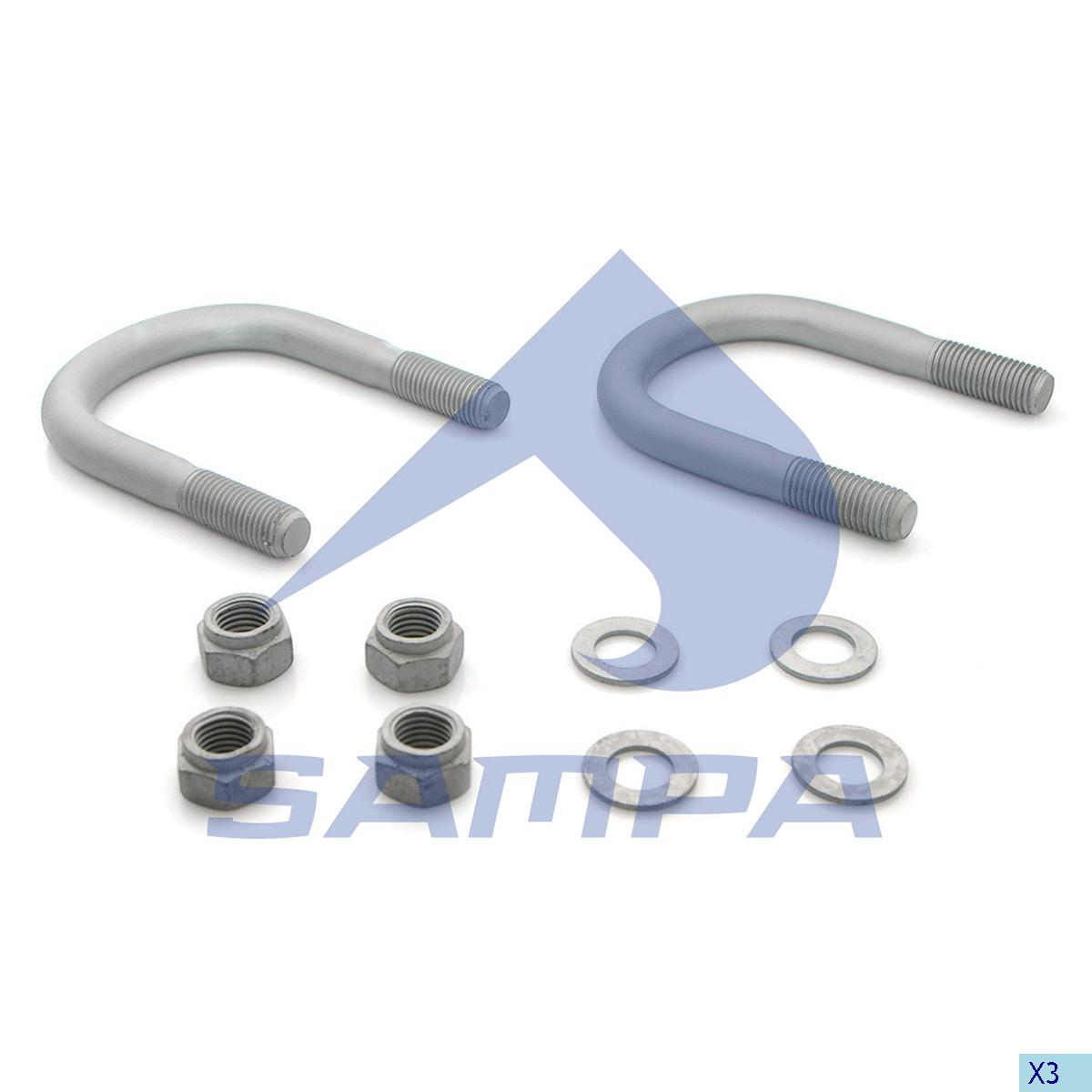 Repair Kit, Spring, Bergische, Suspension