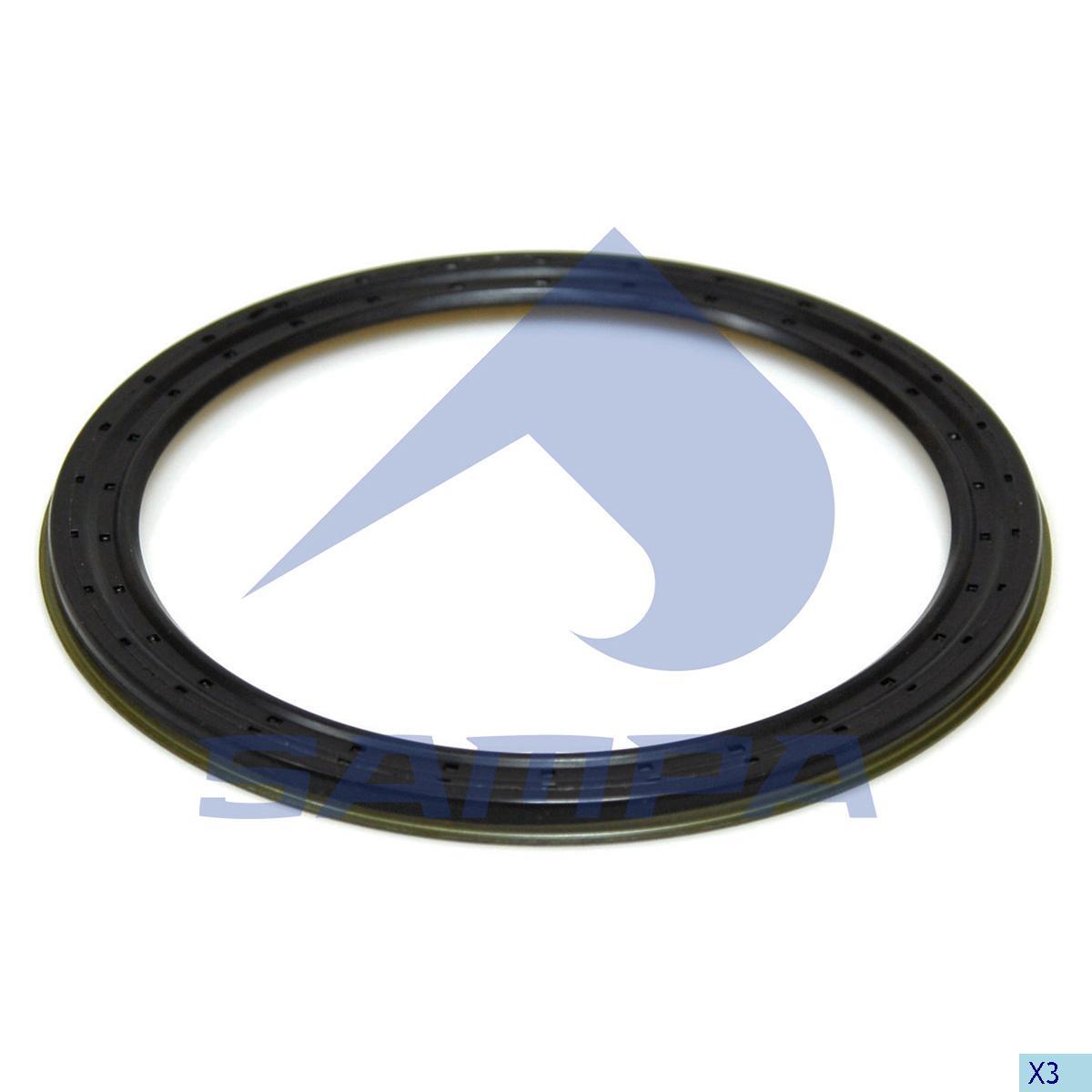 Seal Ring, Wheel Hub, Sauer Achsen, Power Unit