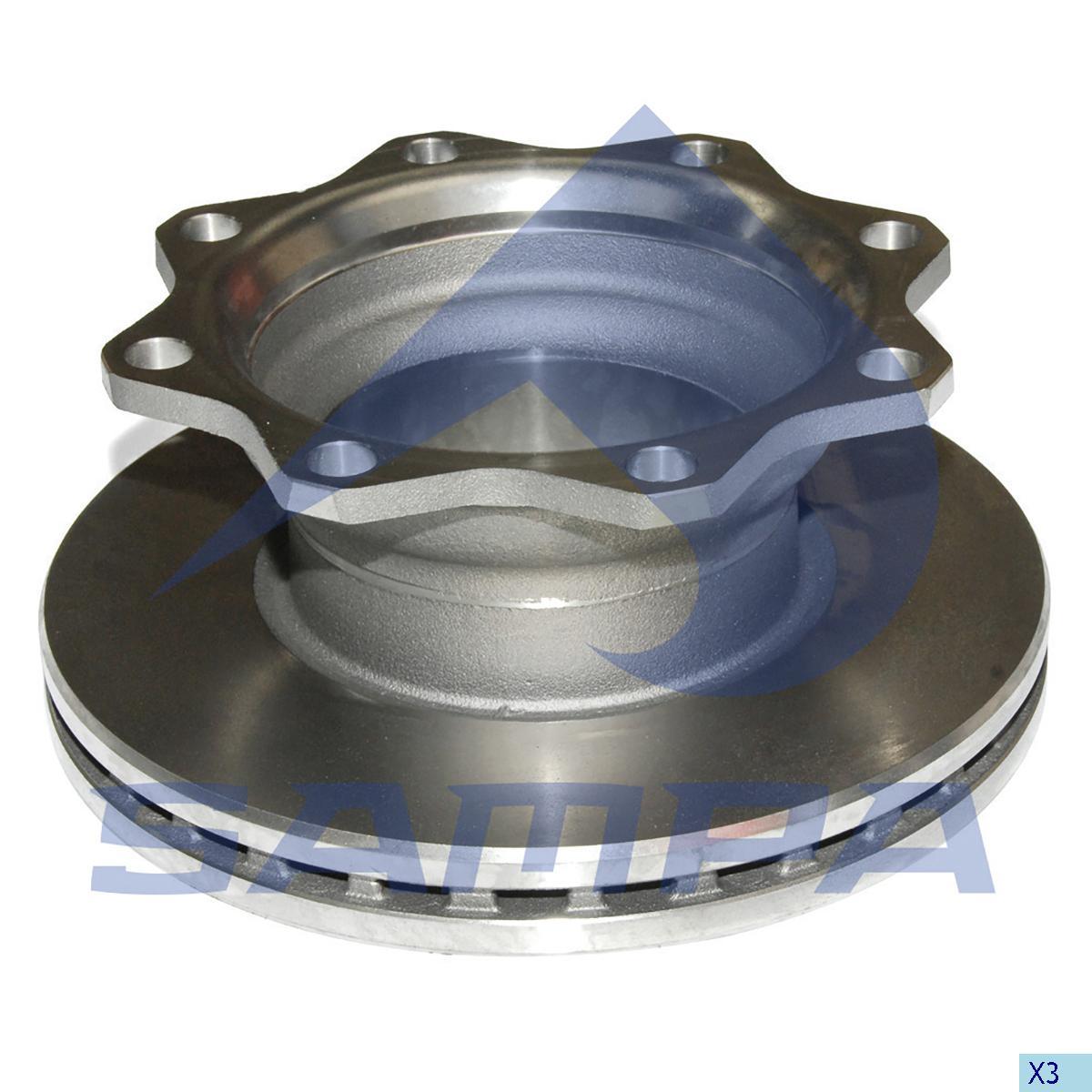 Brake Disc, Sauer Achsen, Brake