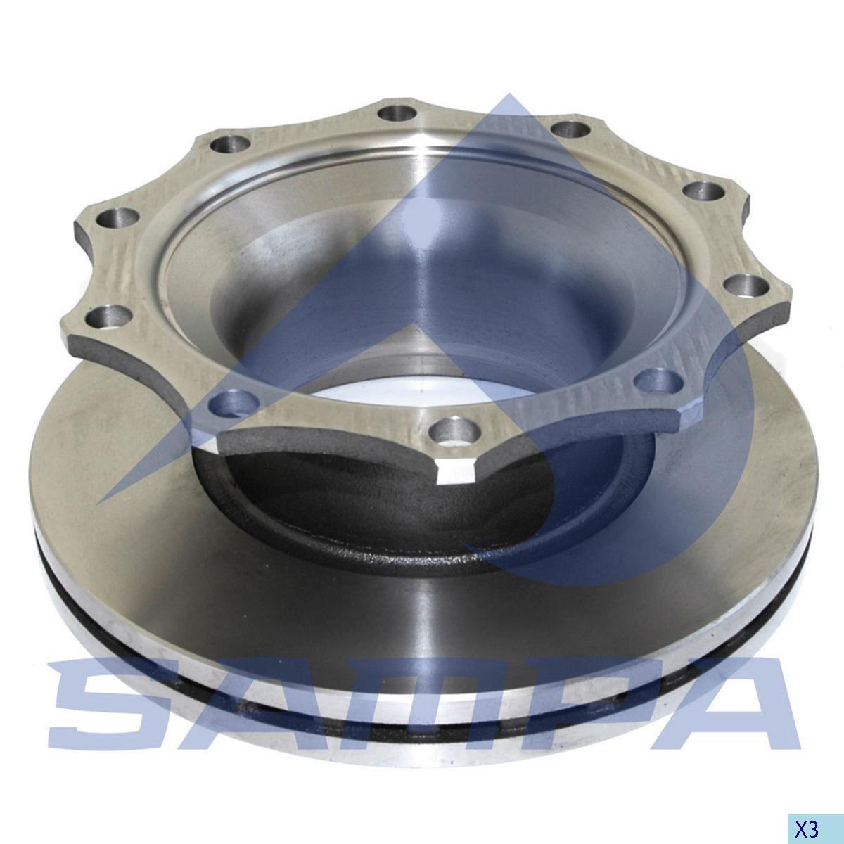 Brake Disc, Sauer, Brake