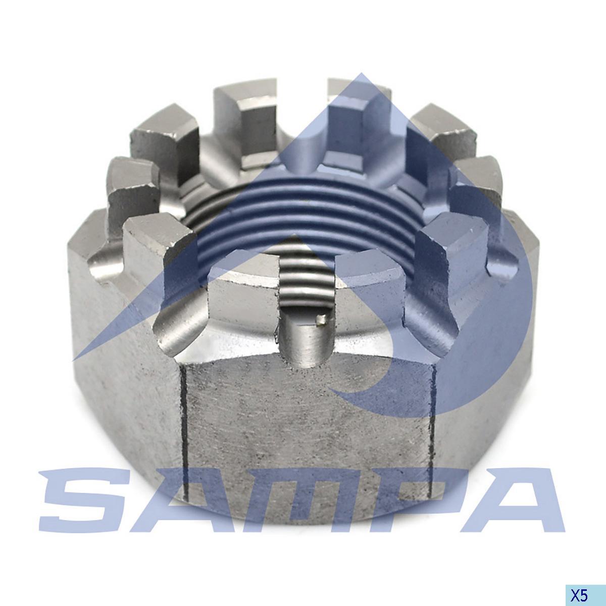 Axle Nut, Sauer Achsen, Power Unit
