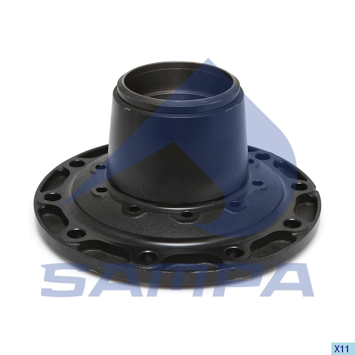 Wheel Hub, Sauer, Power Unit
