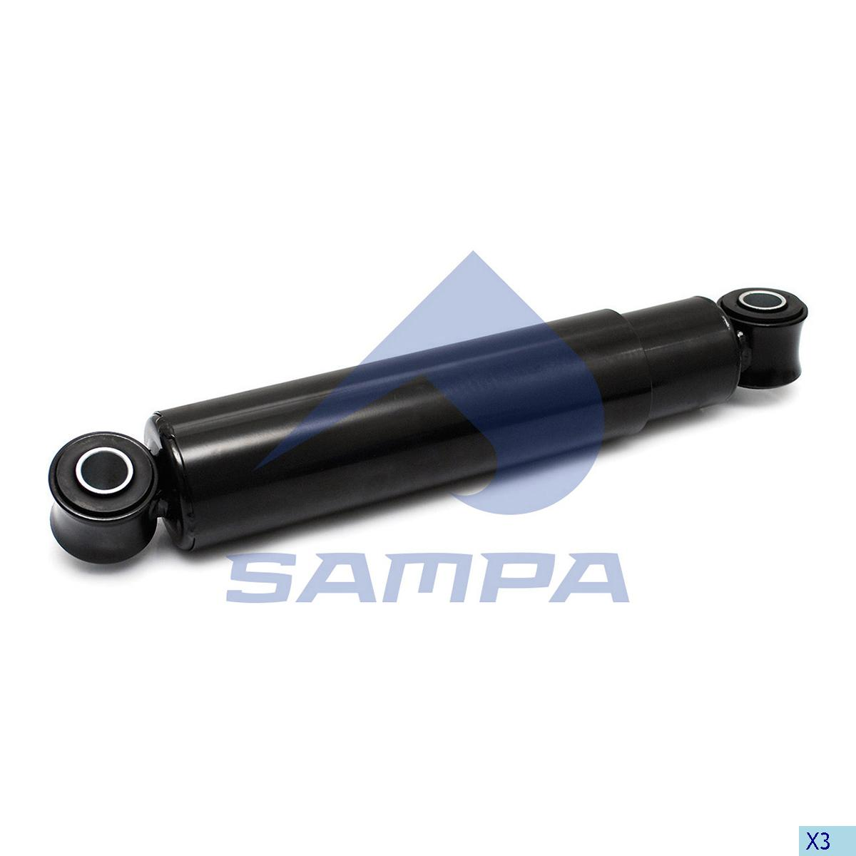 Shock Absorber, Sauer, Suspension