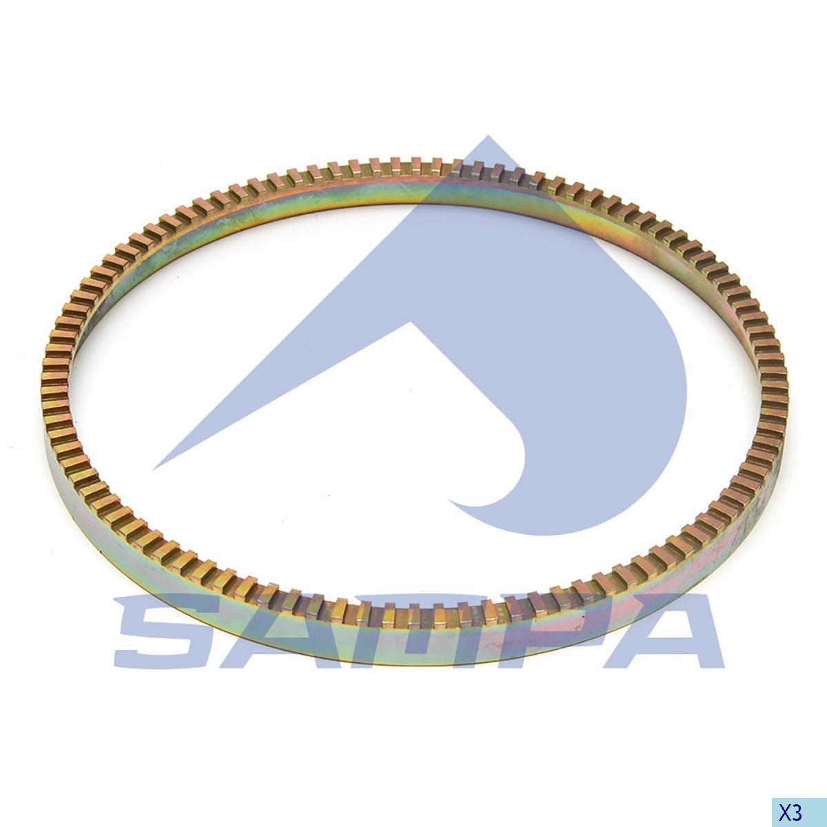 Ring, ABS, Sauer Achsen, Brake