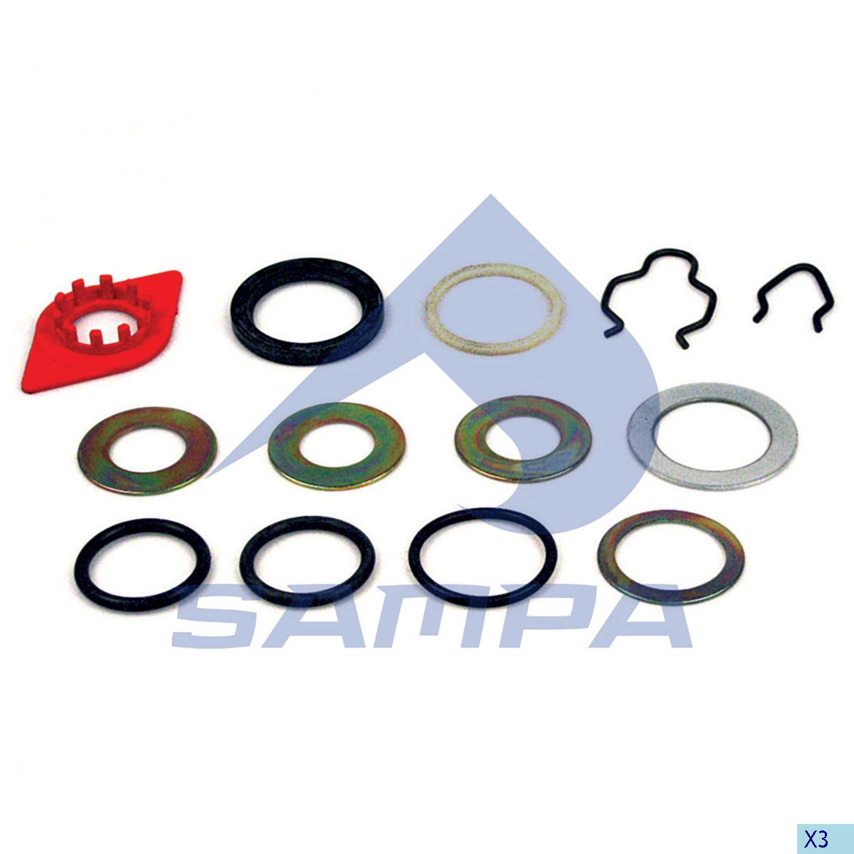 Repair Kit, Brake Cam Shaft, Sauer, Brake