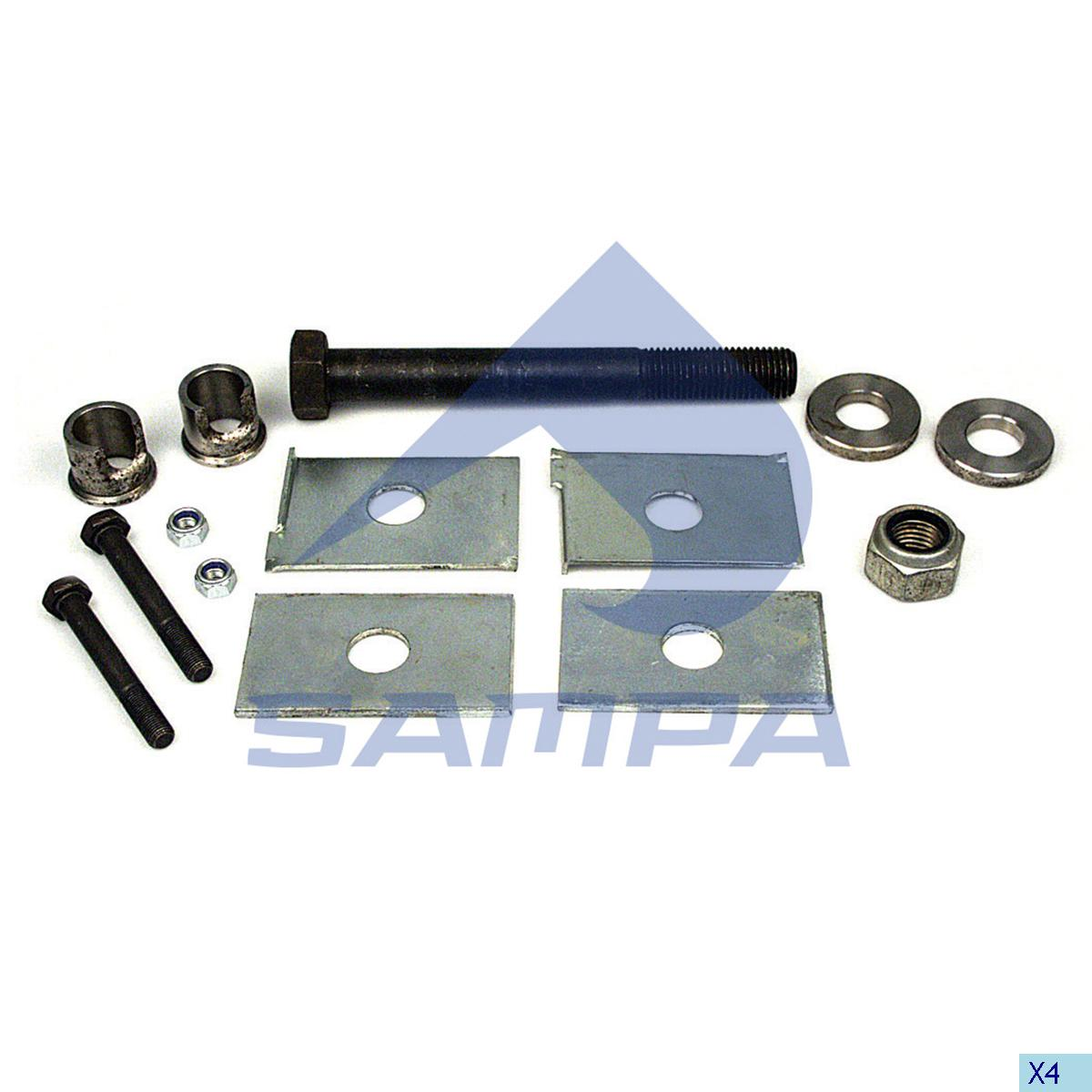 Repair Kit, Spring, Sauer, Suspension