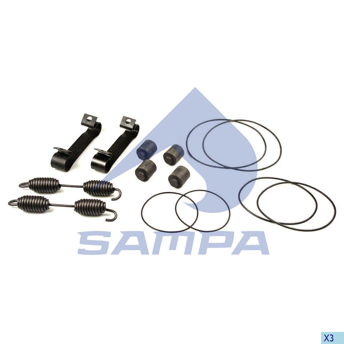 Repair Kit, Brake Shoe, Sauer, Brake