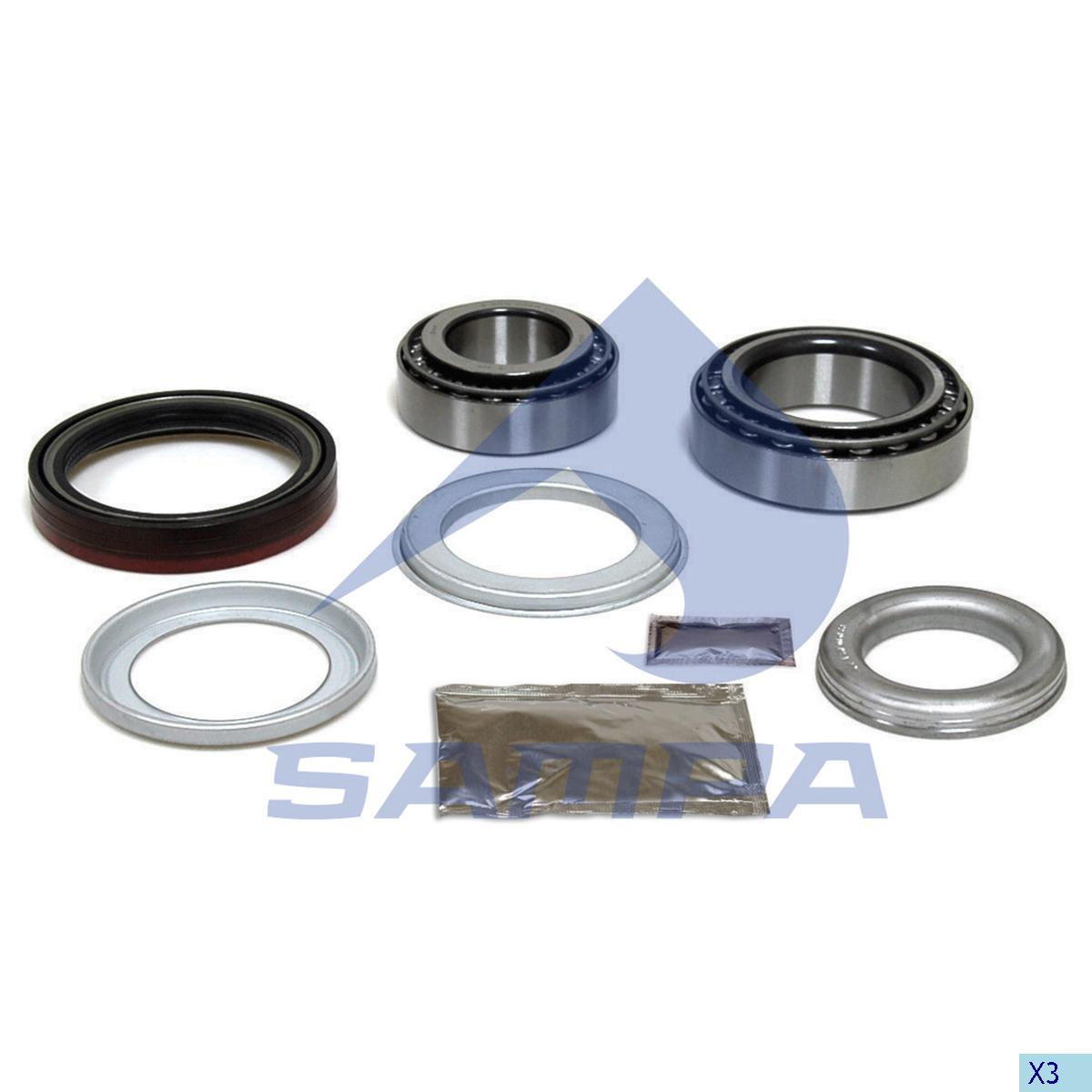 Repair Kit, Wheel Hub, Sauer, Power Unit