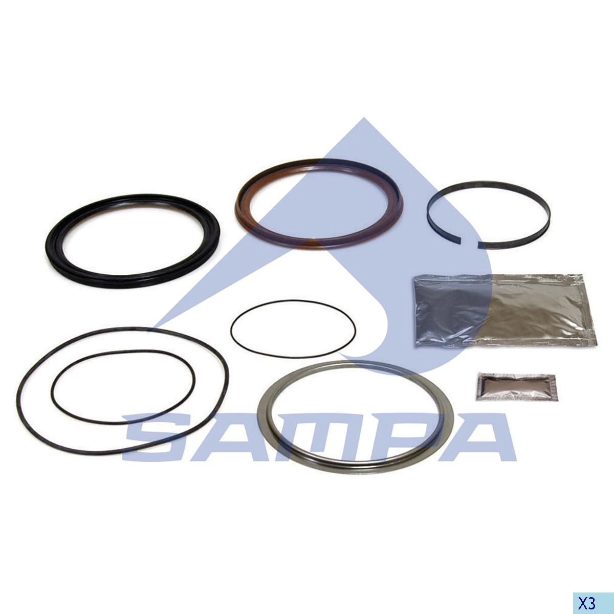 Repair Kit, Wheel Hub, Sauer, Power Unit