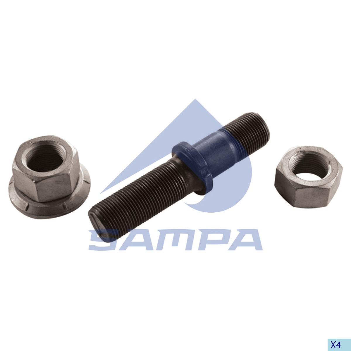 Repair Kit, Stud, Sauer Achsen, Power Unit
