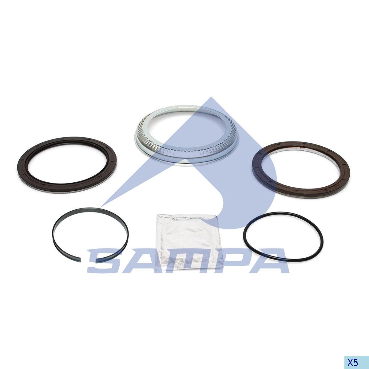Repair Kit, Wheel Hub, Sauer Achsen, Power Unit