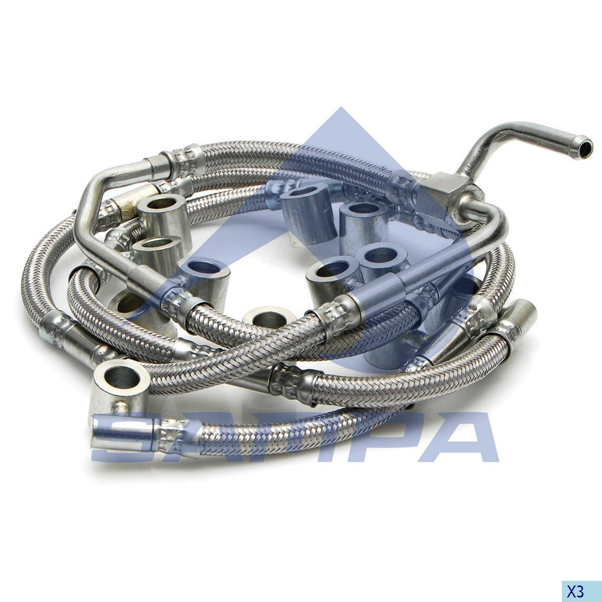 Pipe, Injector, R.V.I., Engine