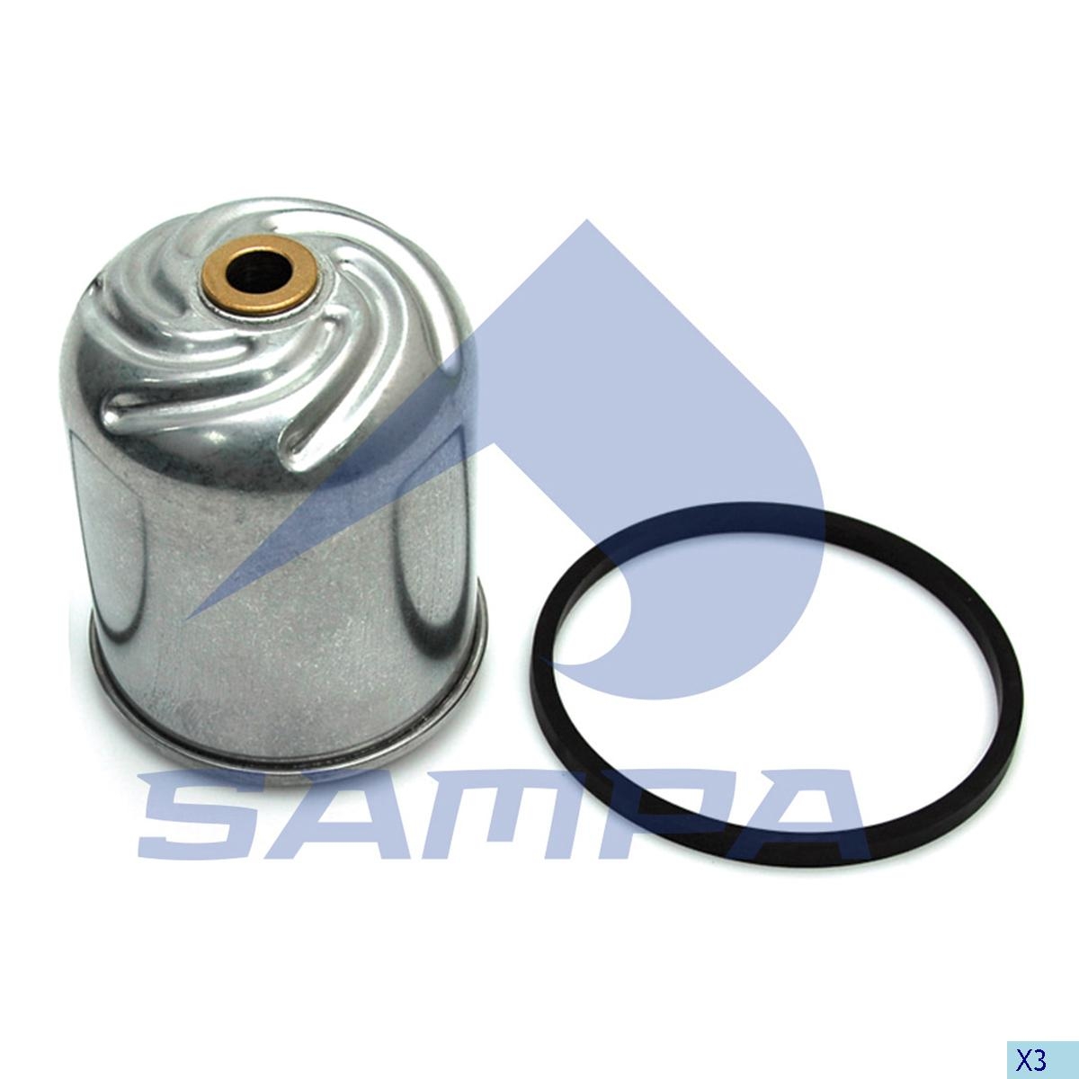 Oil Filter, R.V.I., Engine
