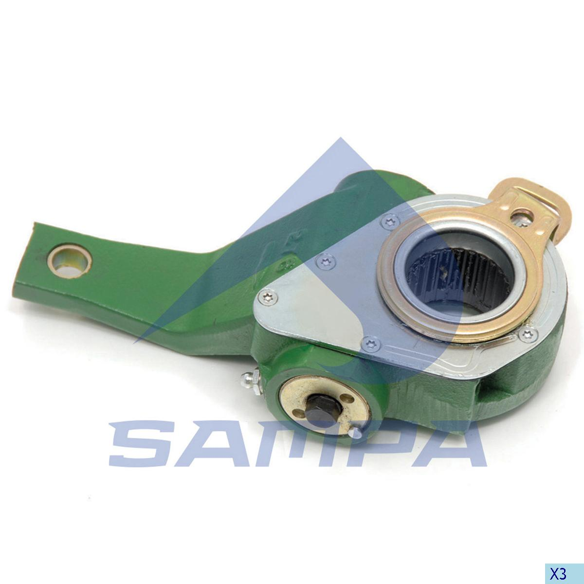 Brake Slack Adjuster, R.V.I., Brake