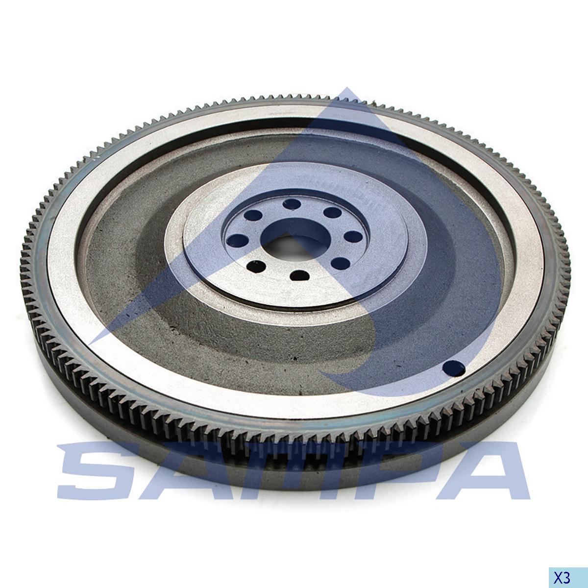 Flywheel, R.V.I., Engine