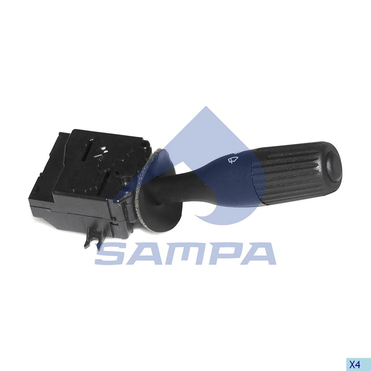 Wiper Control Arm, R.V.I., Cab