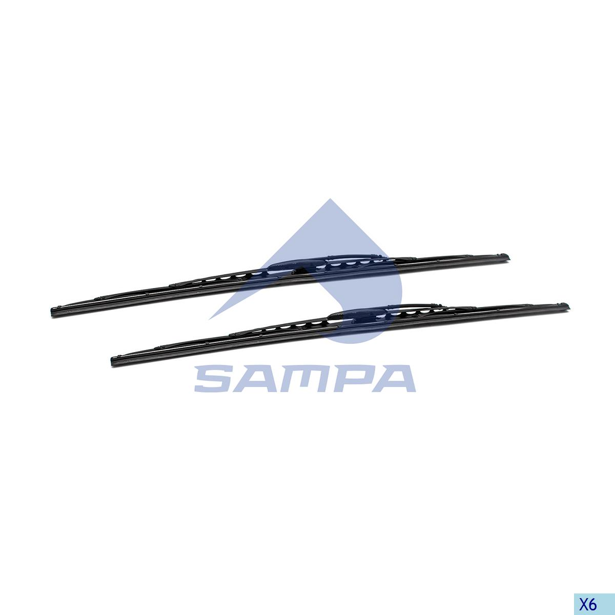 Blade, Windscreen Wiper, R.V.I., Cab