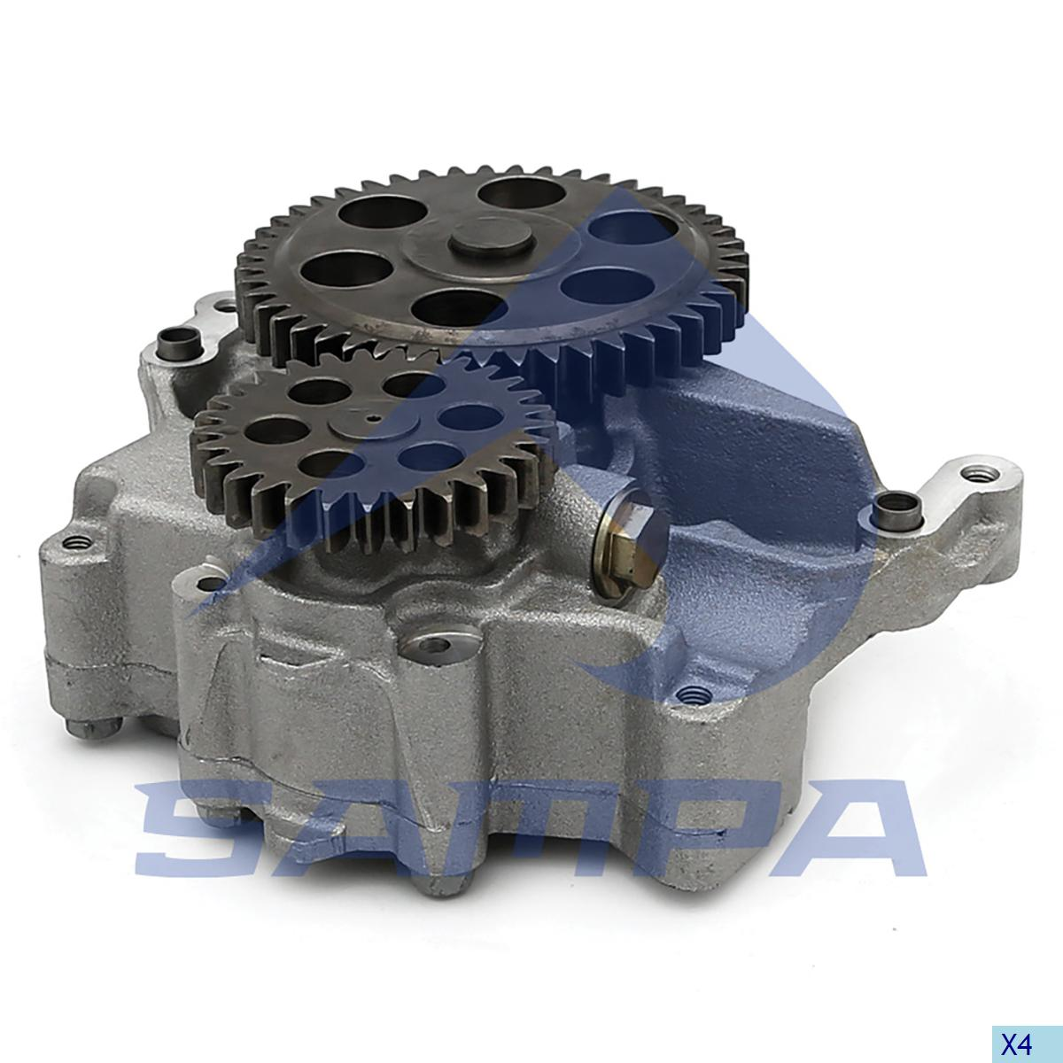 Oil Pump, R.V.I., Gear Box