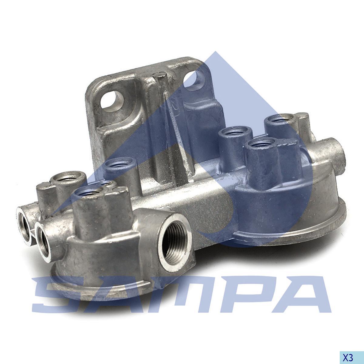 Head, Fuel Filter, R.V.I., Engine