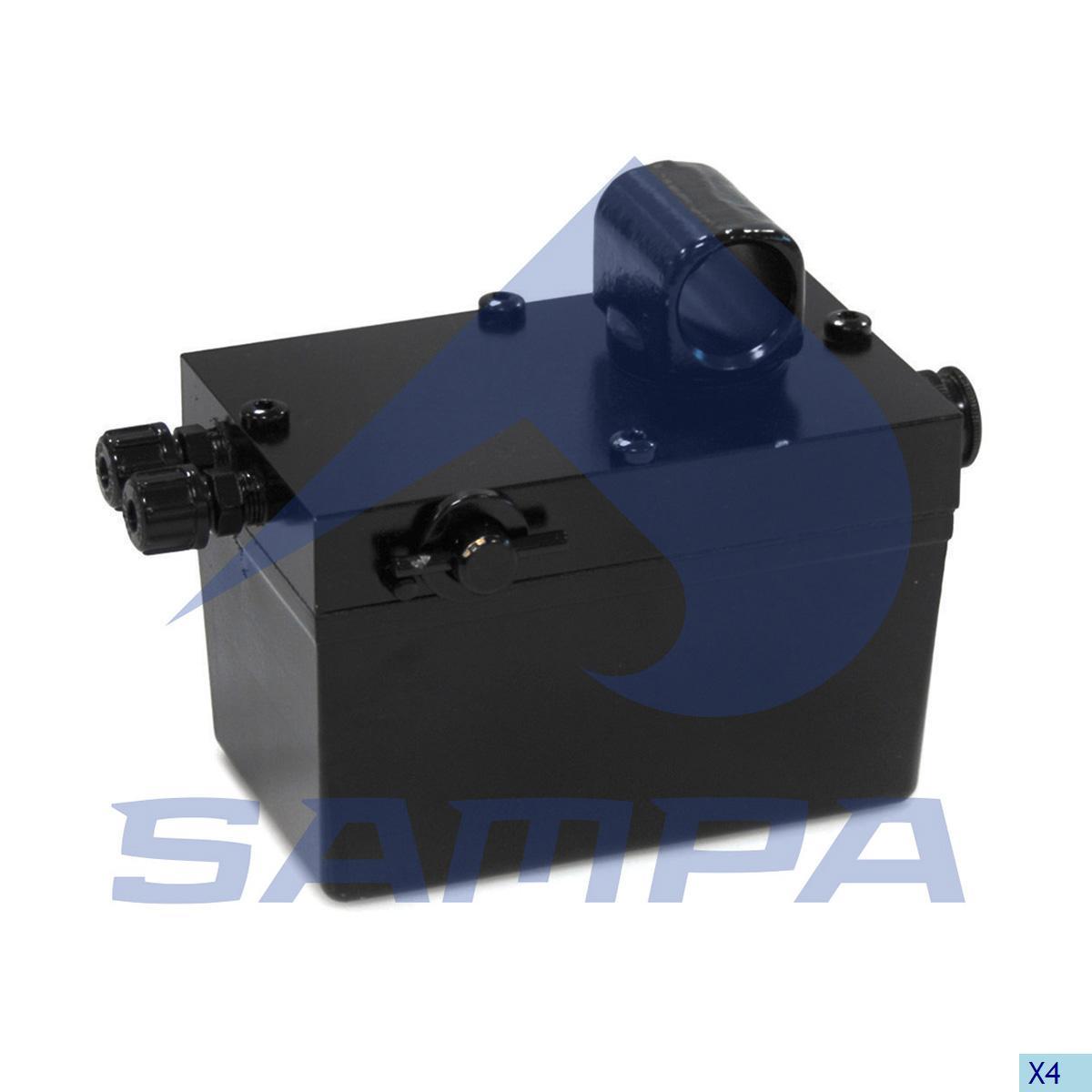 Hand Pump, Cab Tilt, R.V.I., Cab
