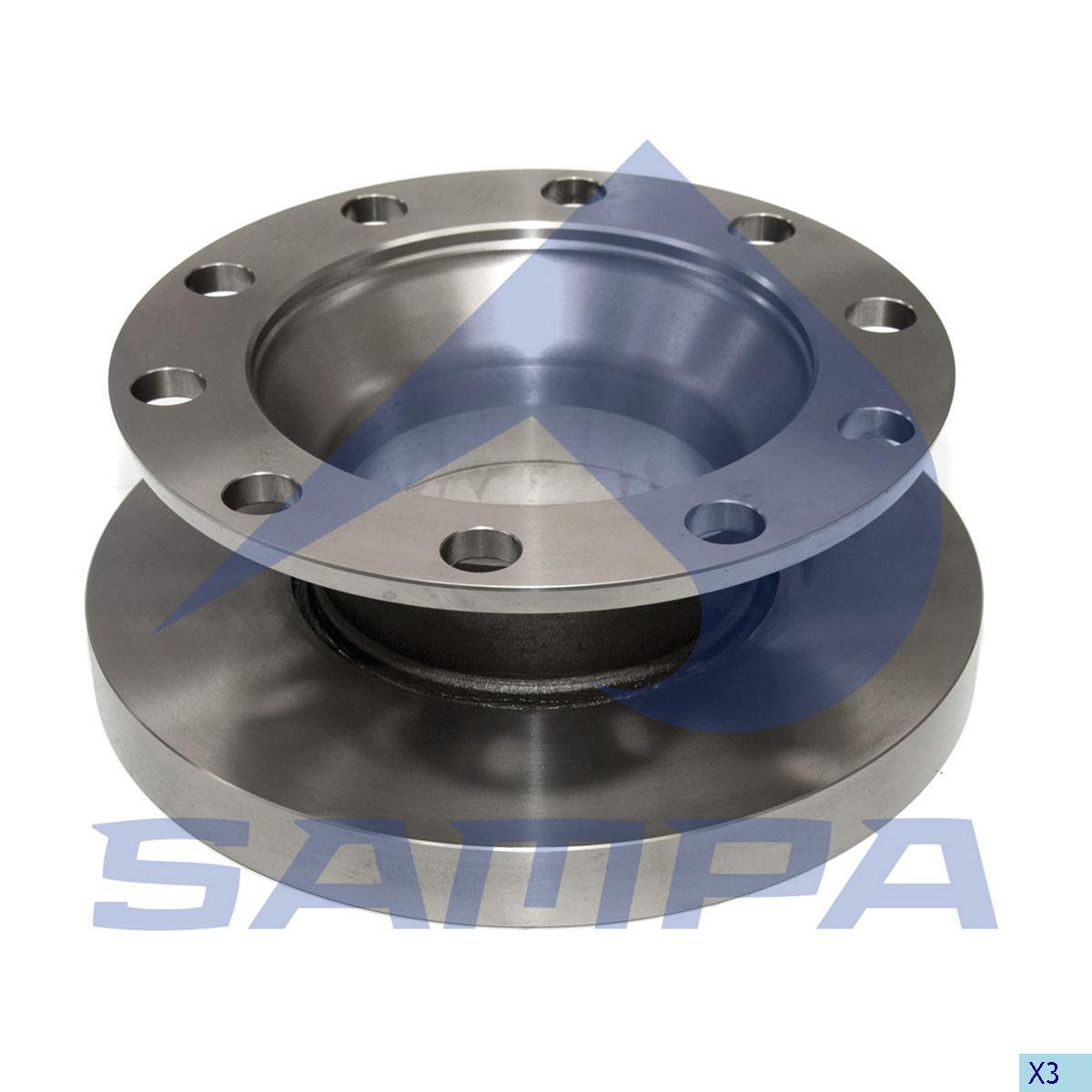 Brake Disc, R.V.I., Brake
