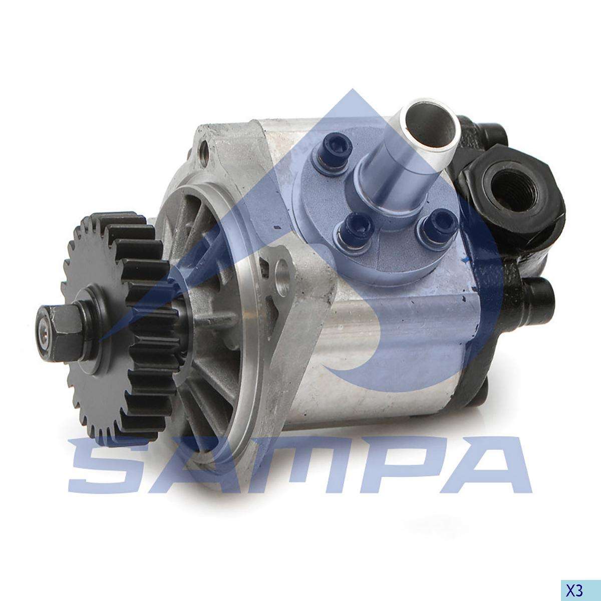 Steering Pump, R.V.I., Steering