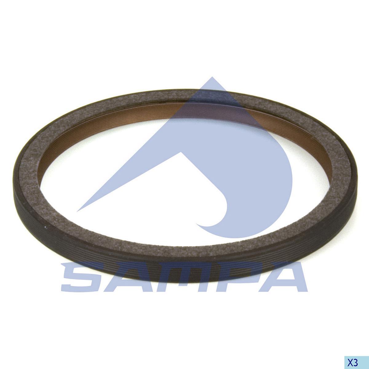 Seal Ring, Crank Shaft, R.V.I., Engine