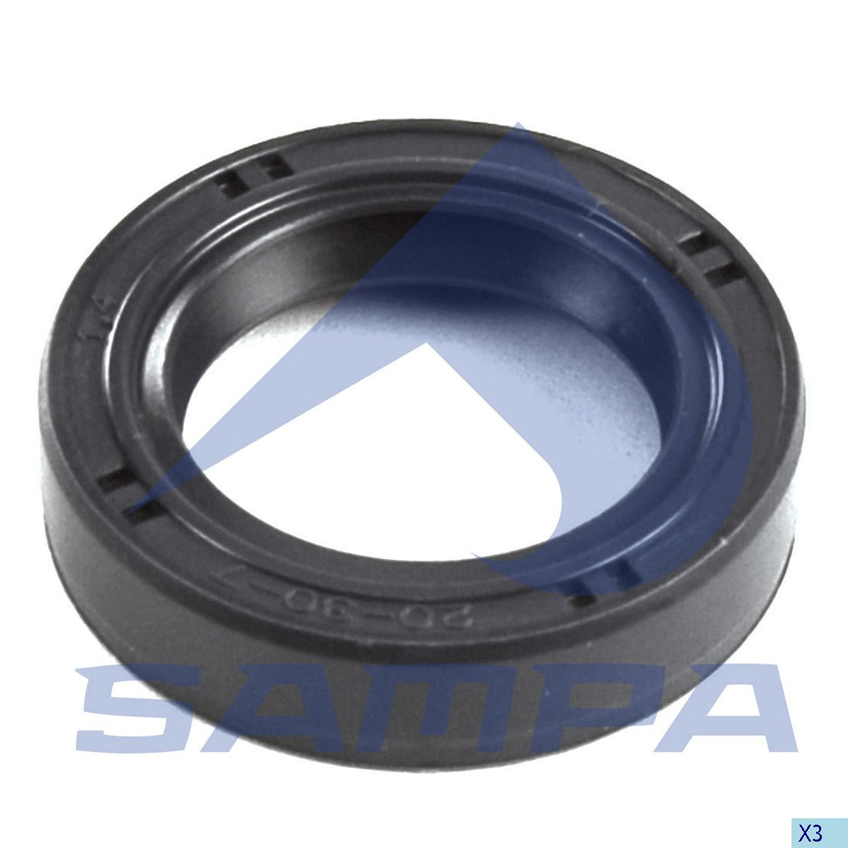 Seal Ring, Gear Selector Housing, R.V.I., Gear Box