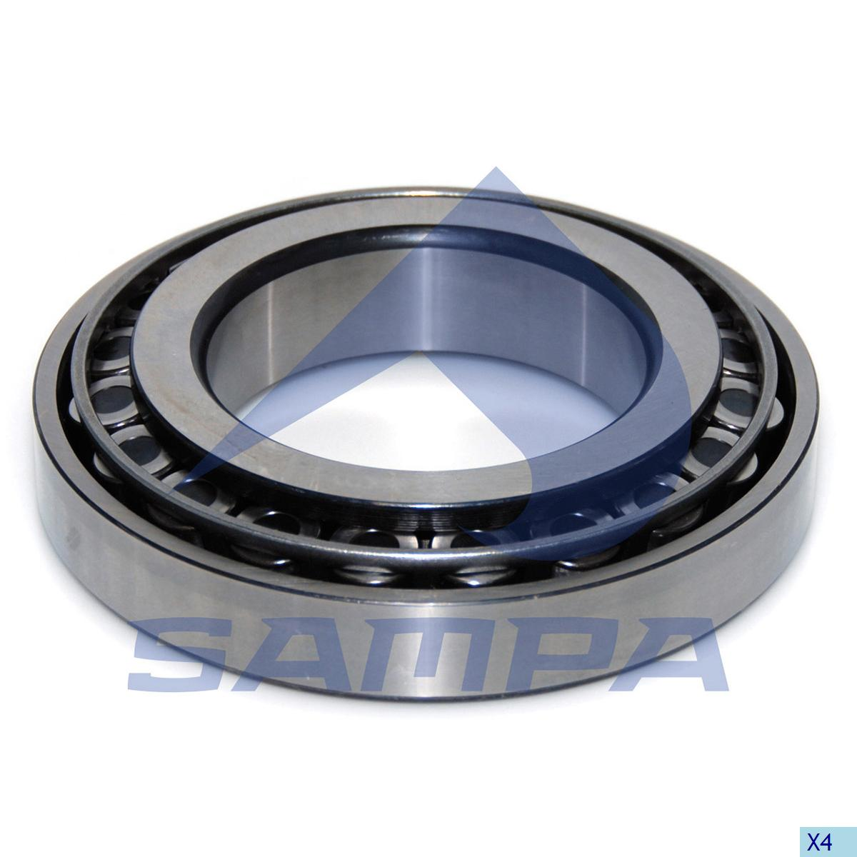 Bearing, Wheel Hub, R.V.I., Power Unit