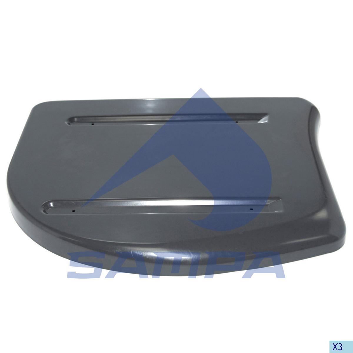 Heat Shield, Exhaust, R.V.I., Engine