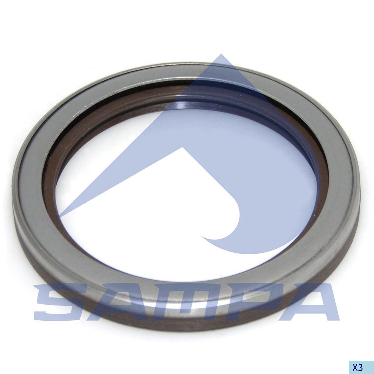 Seal Ring, Wheel Hub, R.V.I., Power Unit