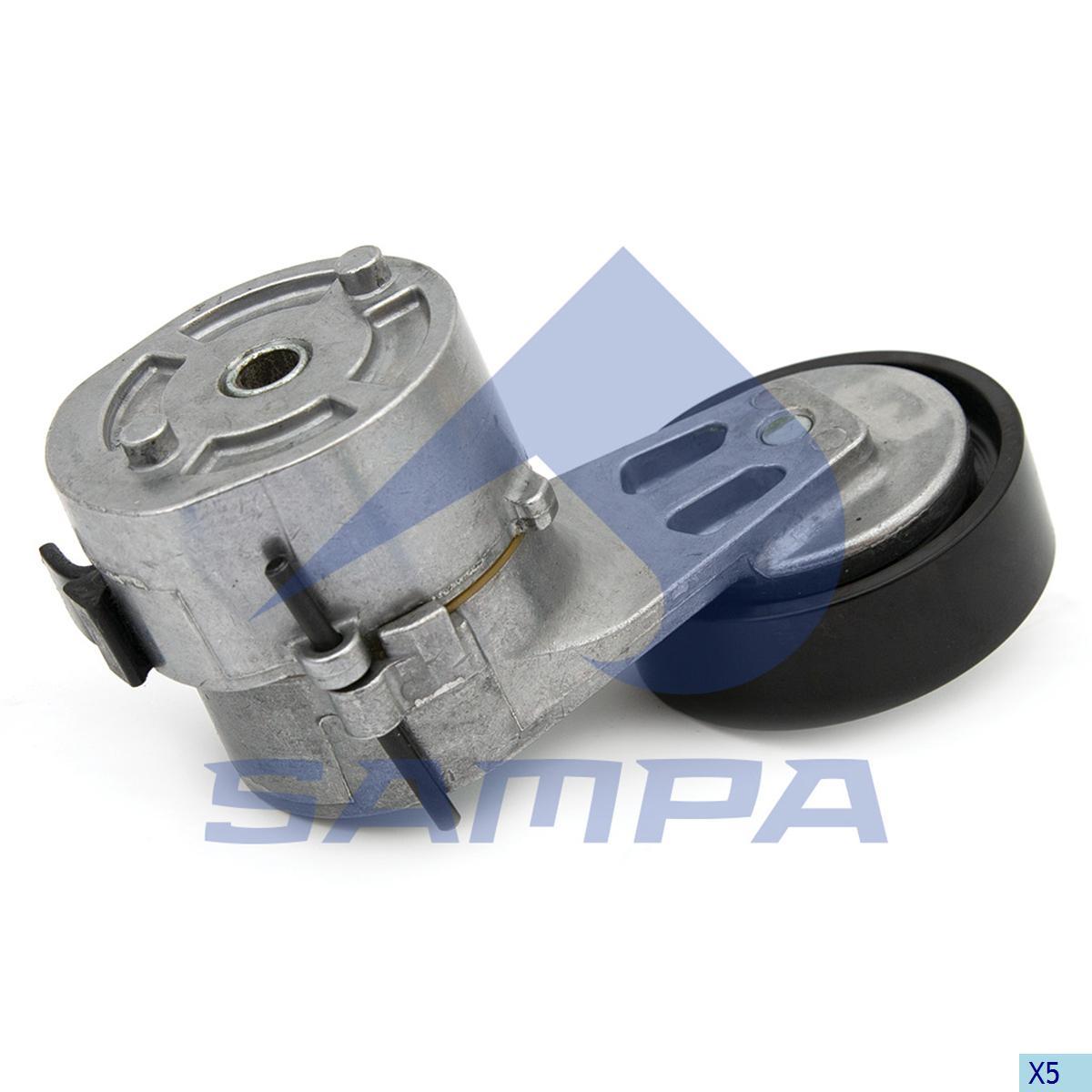 Belt Tensioner, Fan, R.V.I., Engine